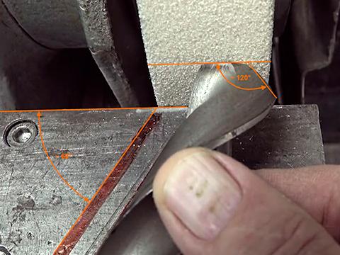 заточка сверла по металлу фото